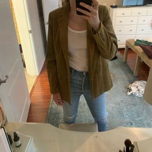 Corduroy Blazer - Who What Wear